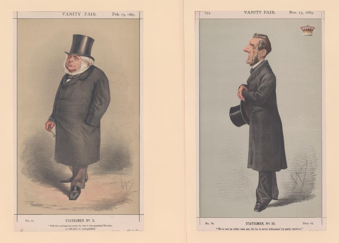 1869 - 1874 Vanity Fair Prints Politicians (8) - 4