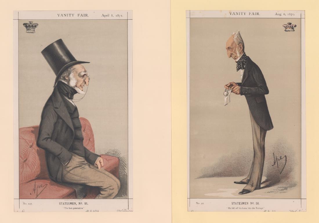 1869 - 1874 Vanity Fair Prints Politicians (8) - 5
