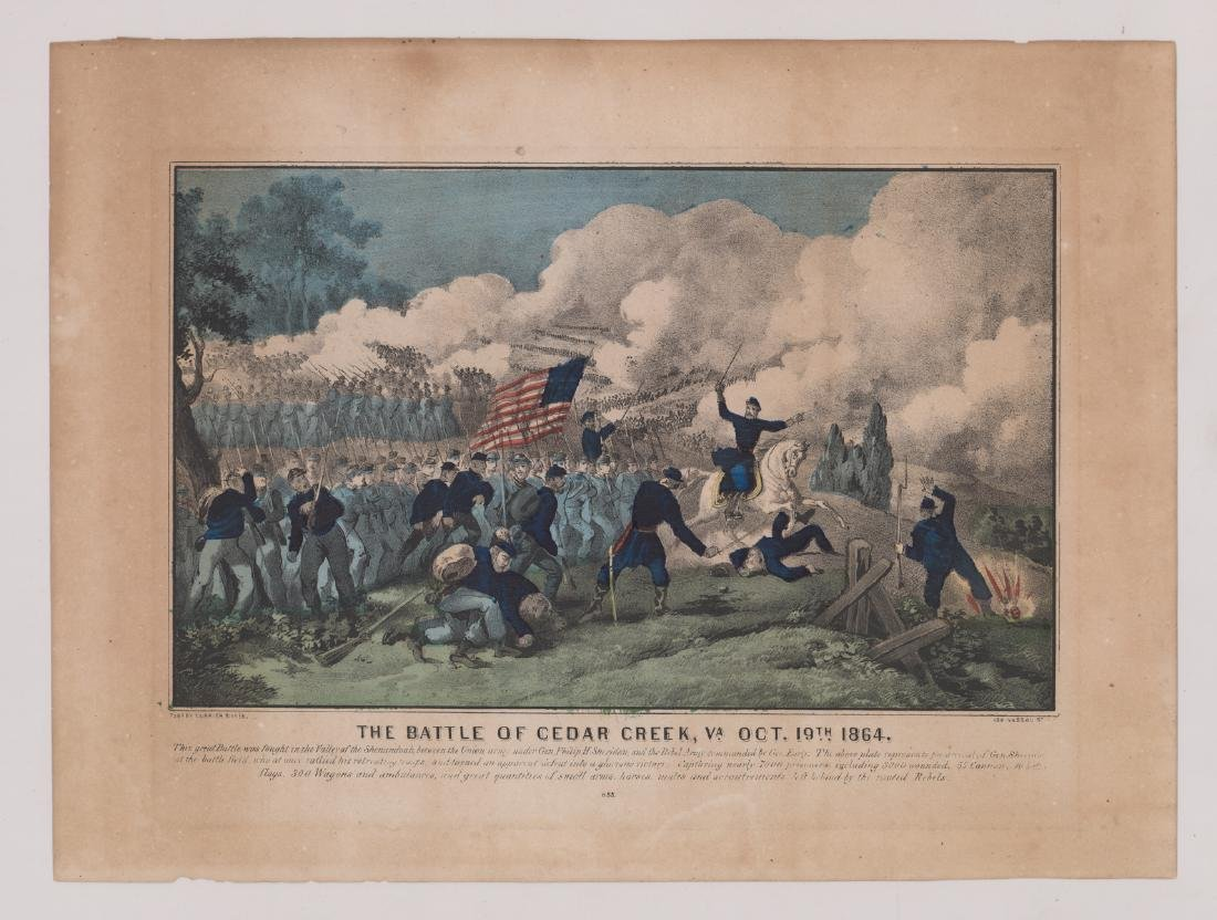 Currier and Ives Battle Scene Prints (3) - 2