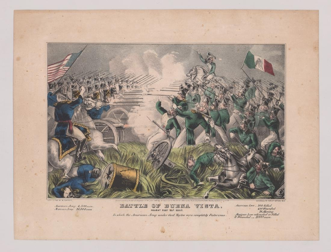 Currier and Ives Battle Scene Prints (3) - 3