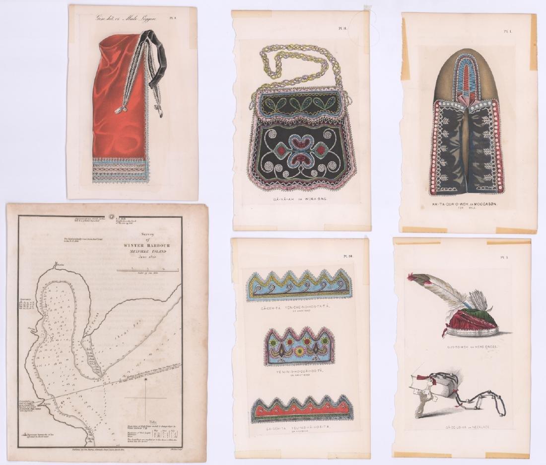 Antique Color Prints and Map (7)