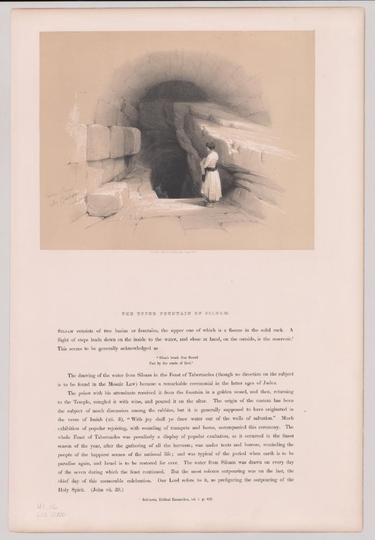 Ca.1842 David Roberts 'The Holy Land, Vol 1' (4) - 2