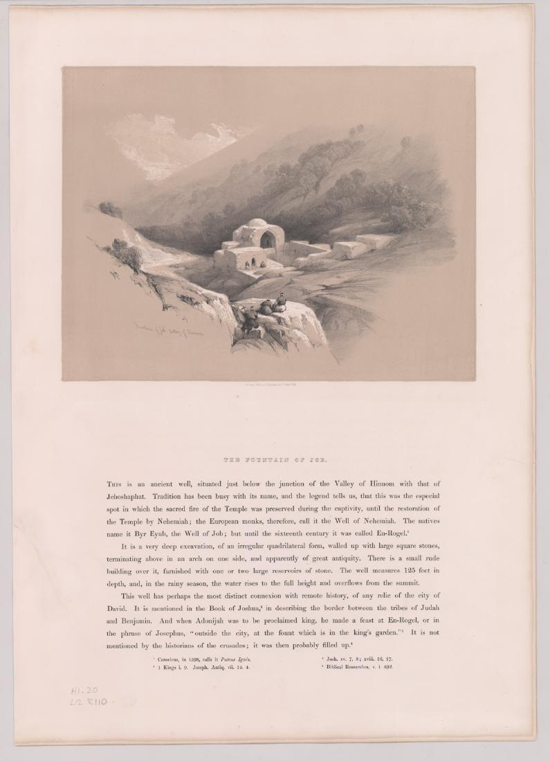 Ca.1842 David Roberts 'The Holy Land, Vol 1' (4) - 3