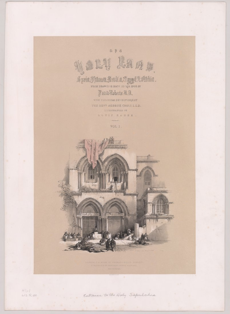 Ca.1842 David Roberts 'The Holy Land, Vol 1' (4) - 6