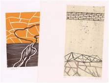 Frances Barth Etchings (2)