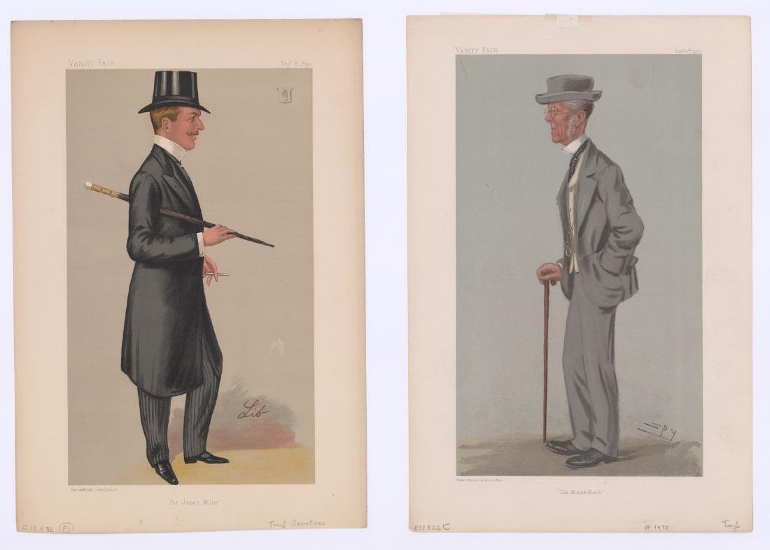 Ca. 1870's-80's Vanity Fair 'Turf Devotees' Prints - 3
