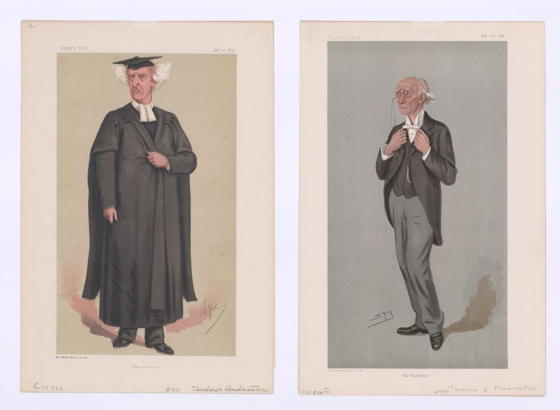 Vanity Fair Prints Teachers and Headmasters (8) - 2