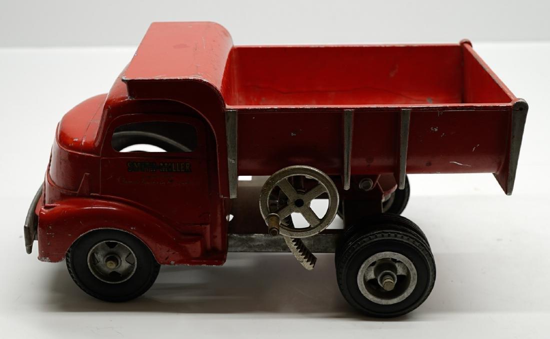 Smith Miller Red Dump Truck