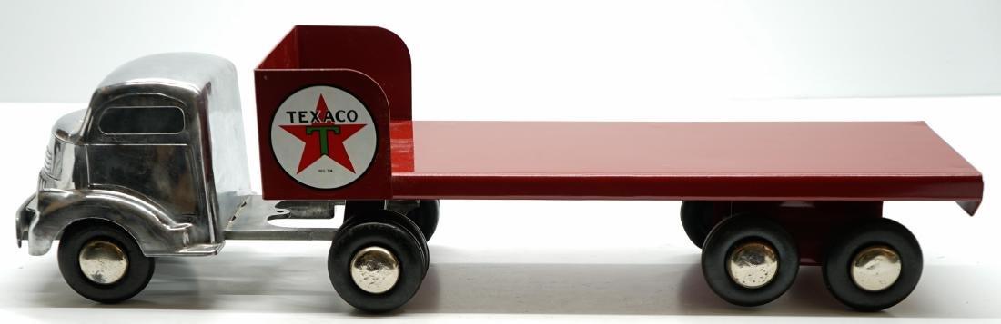 Smith Miller Texaco Flatbed Tractor Trailer