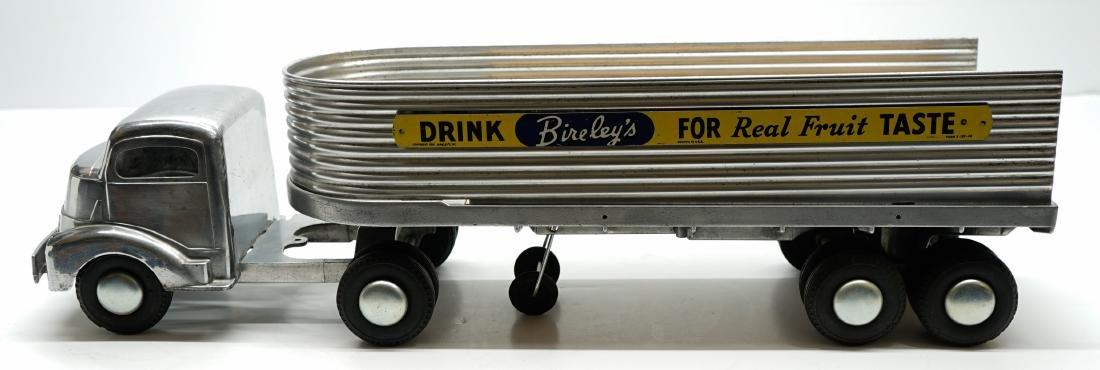 Smith Miller Silver Cab with Bireley's Trailer