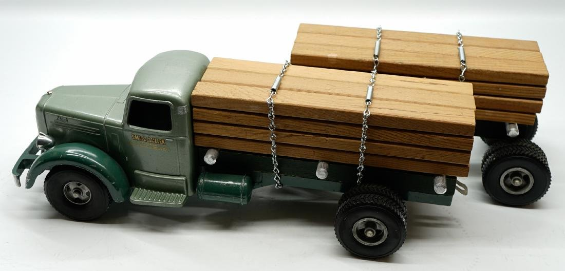 Smith Miller Green Lumber Truck with Pup