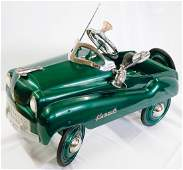 Restored Murray Dipside Plymouth Pedal Car