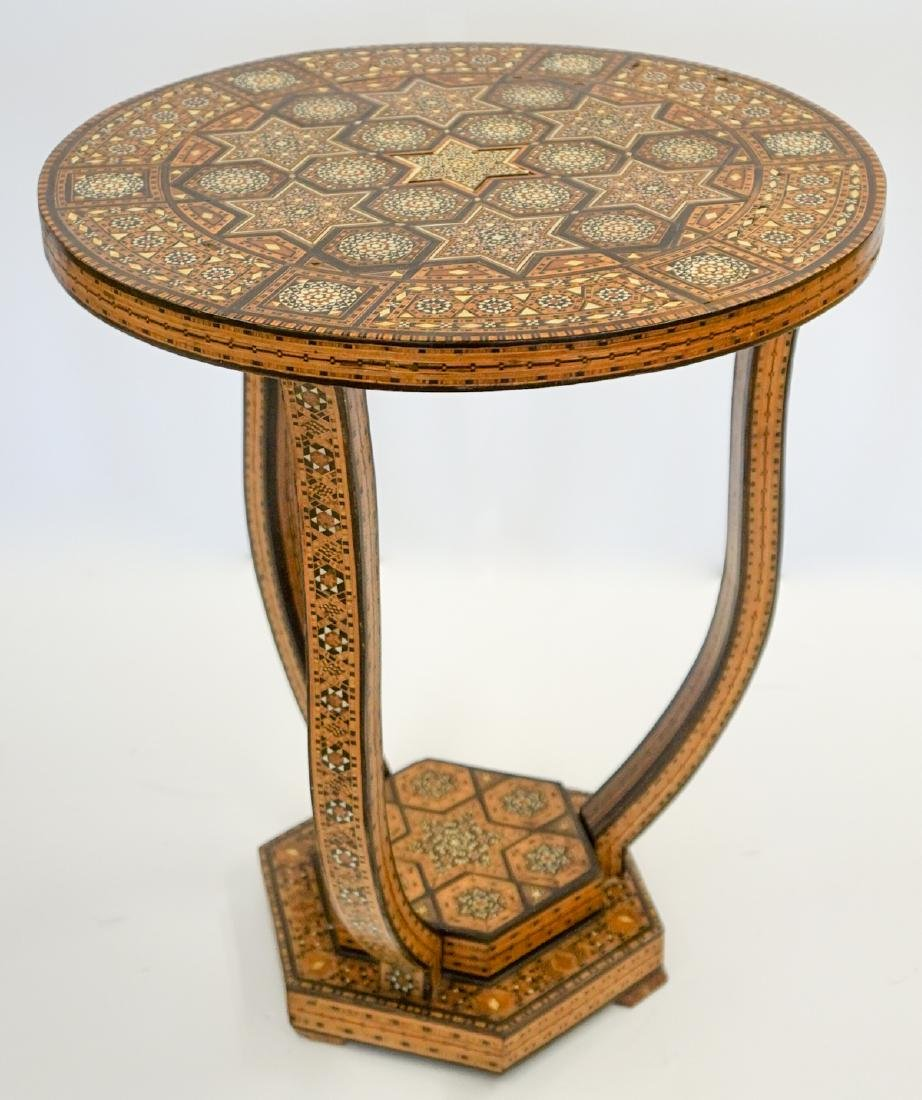 Old Anglo-Indian Inlaid Side Table