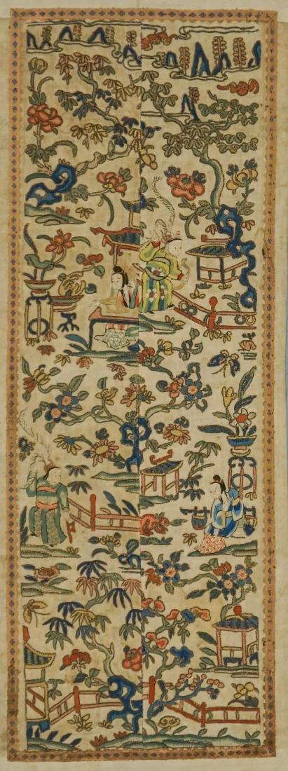 Chinese Antique Sleeve Panels