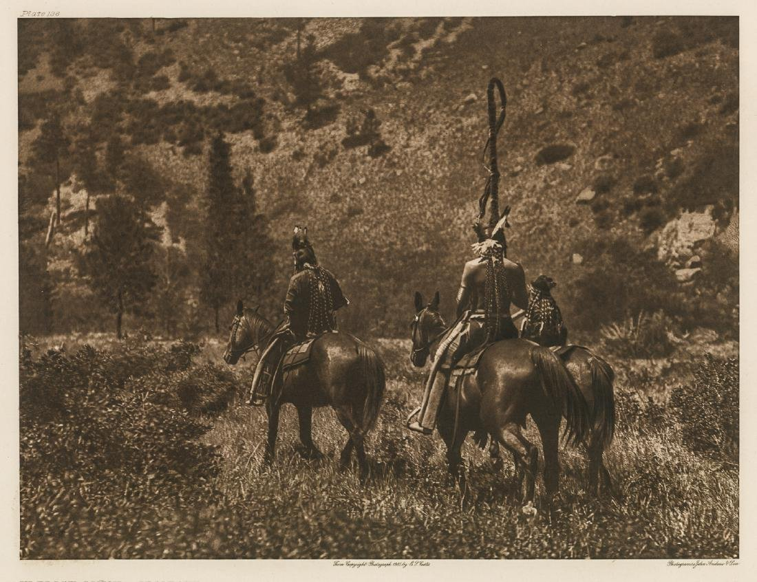 Edward S. Curtis Large Photogravure