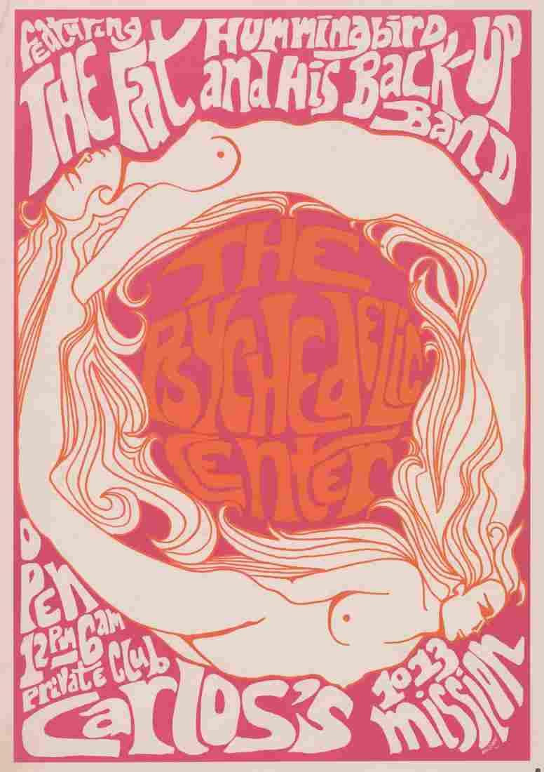 1966 Carlos's Club Concert Poster