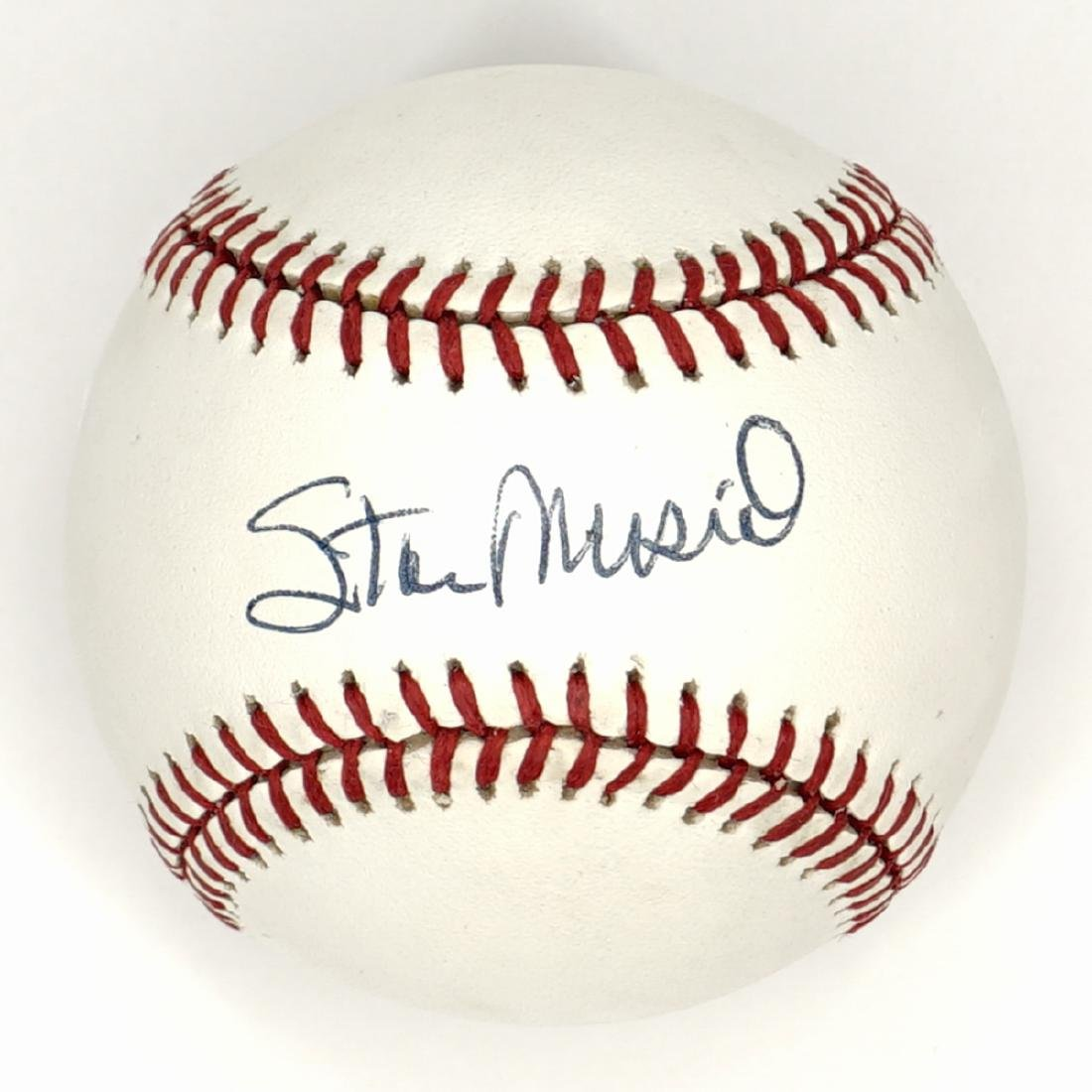 Stan Musial Single Signed Baseball Beckett COA