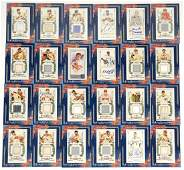 Allen and Ginter Topps Relics and Inserts (24)