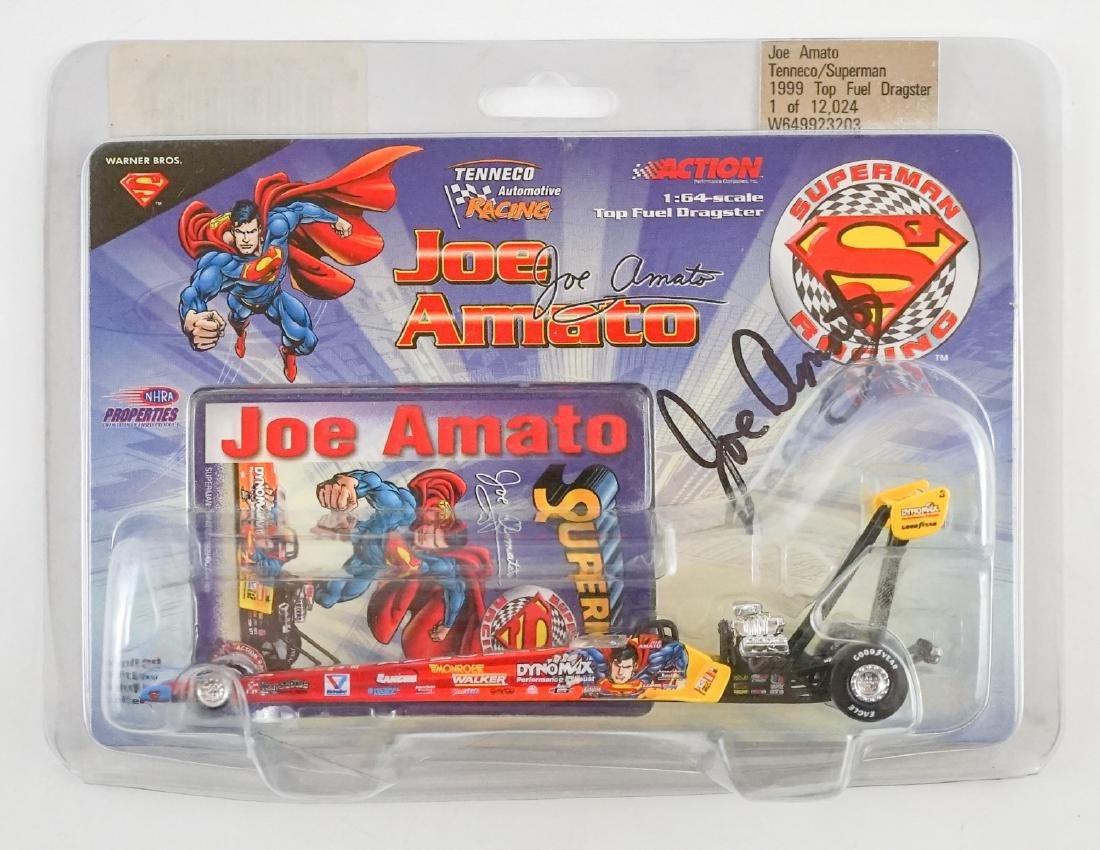 Joe Amato Signed Scale Model Car PSA/DNA