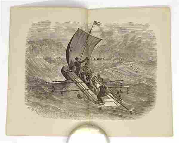 1866 Frazees Life Boat or Raft Booklet