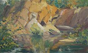 Jeannette A. Stewart Original Oil [Landscape]