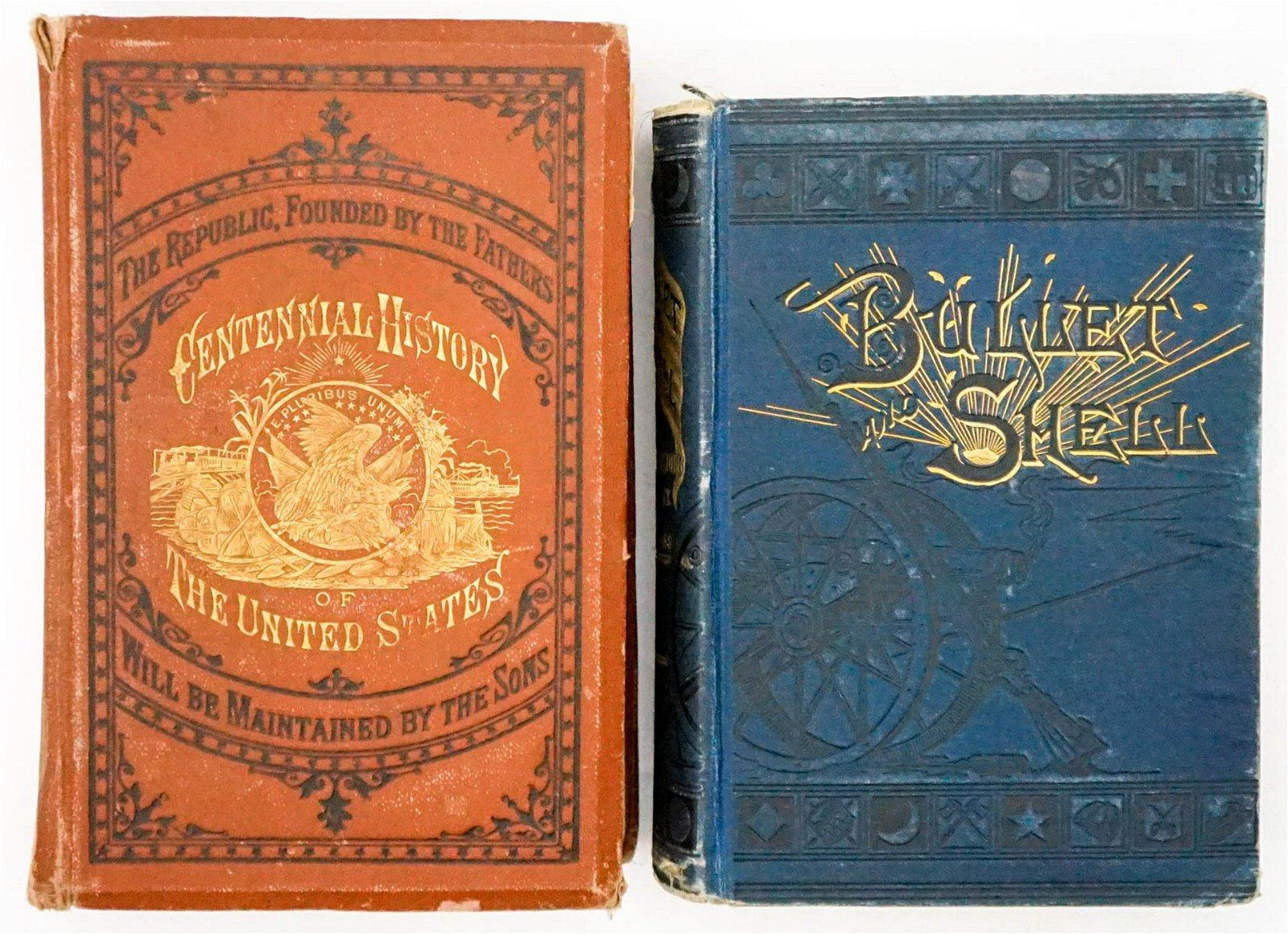 American Civil War Illustrated Books (2) 19th Cen