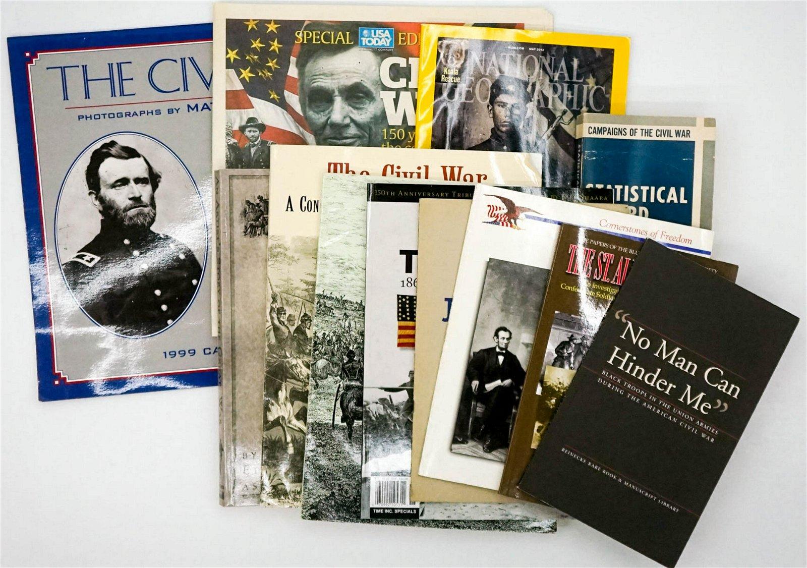 American Civil War (12) Softcover Books