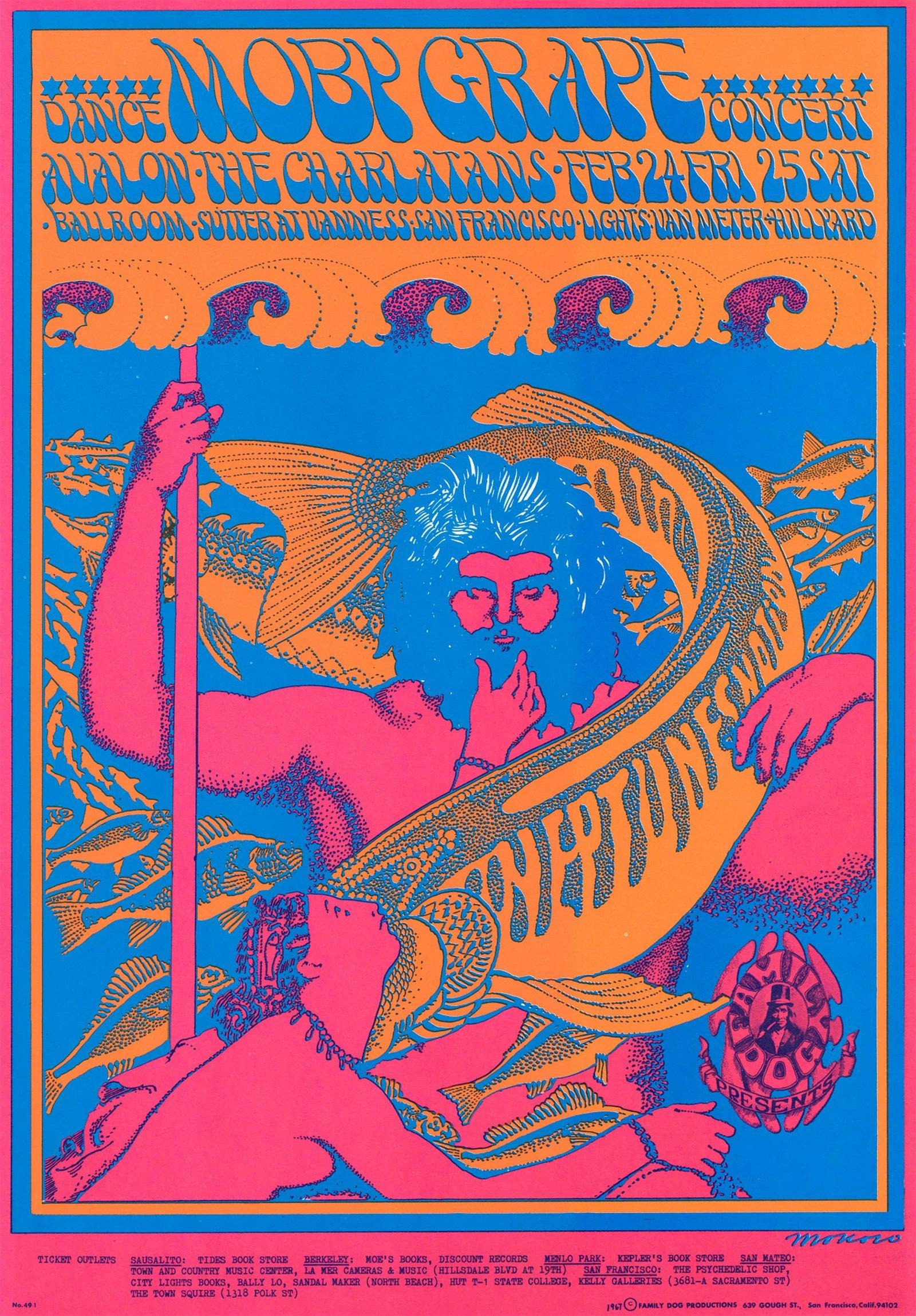 Family Dog Avalon Ballroom Poster FD-49-RP-2