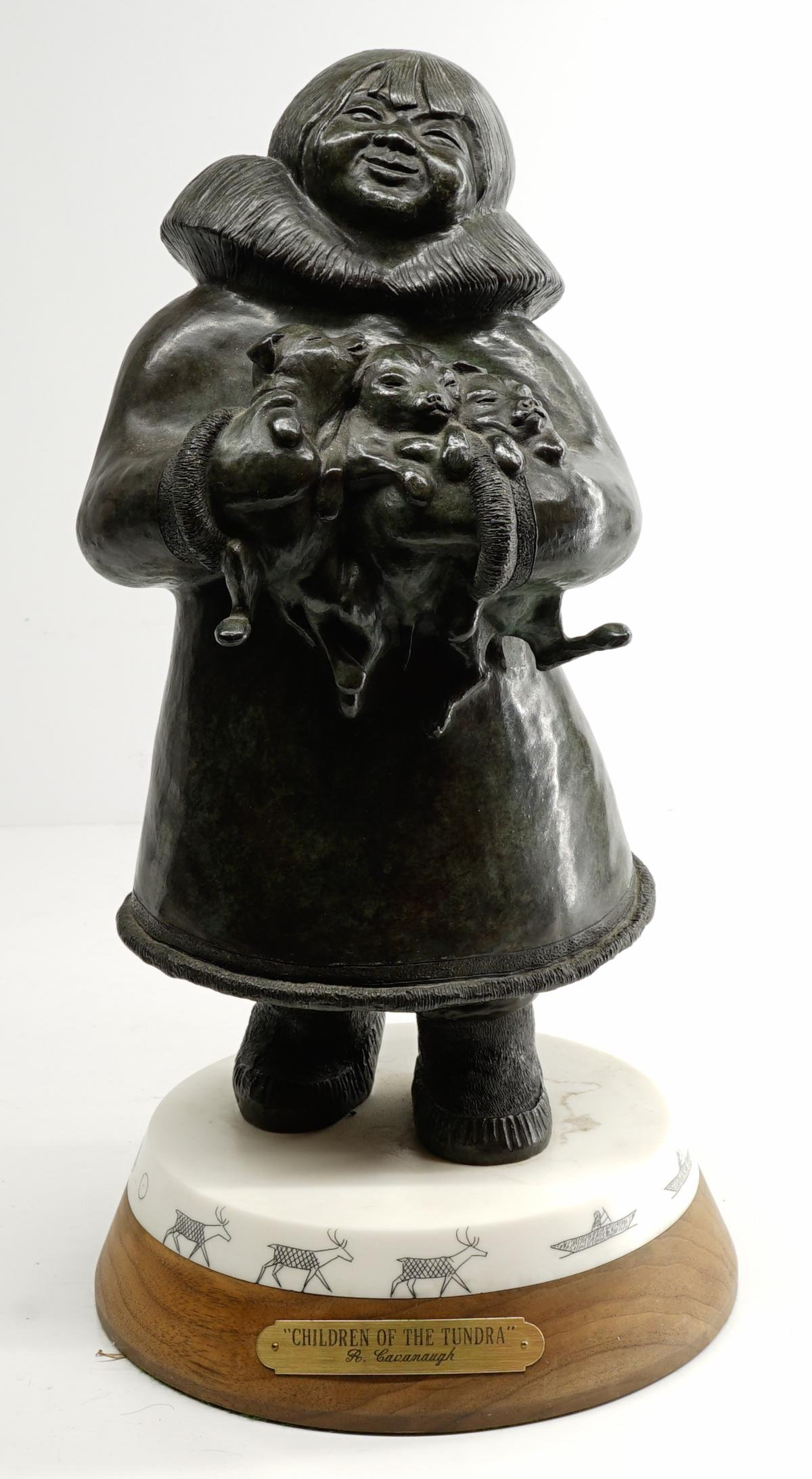 Robert Cavanaugh Signed and Numbered Bronze
