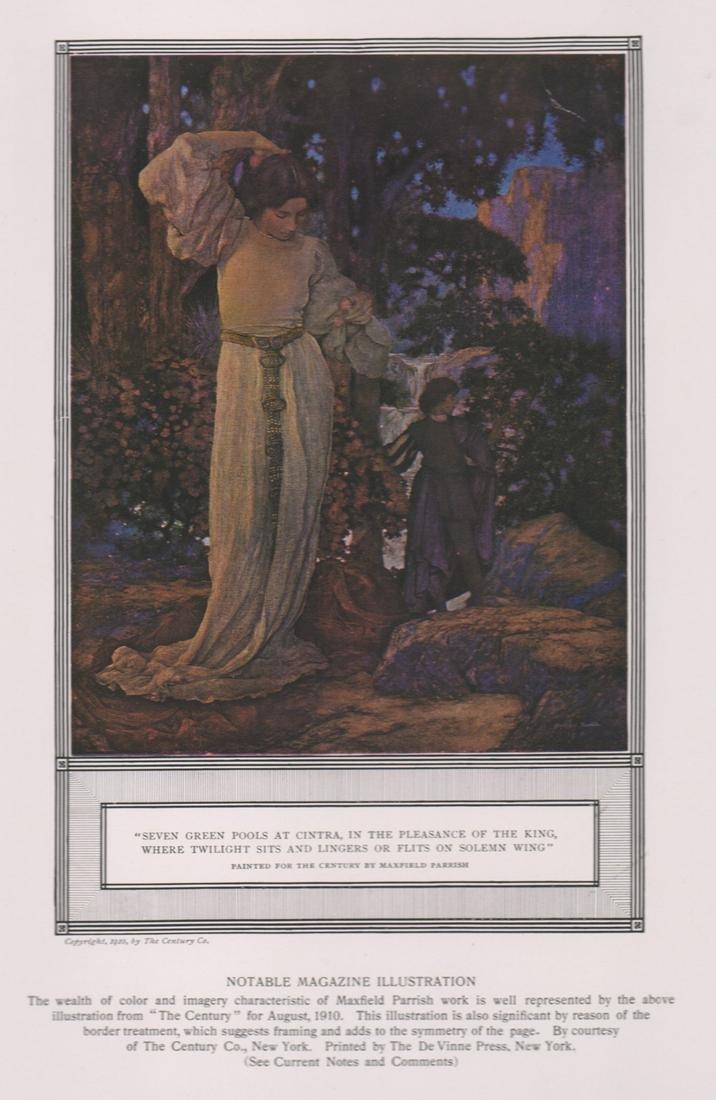 Maxfield Frederick Parrish Print [IllustrationArt]
