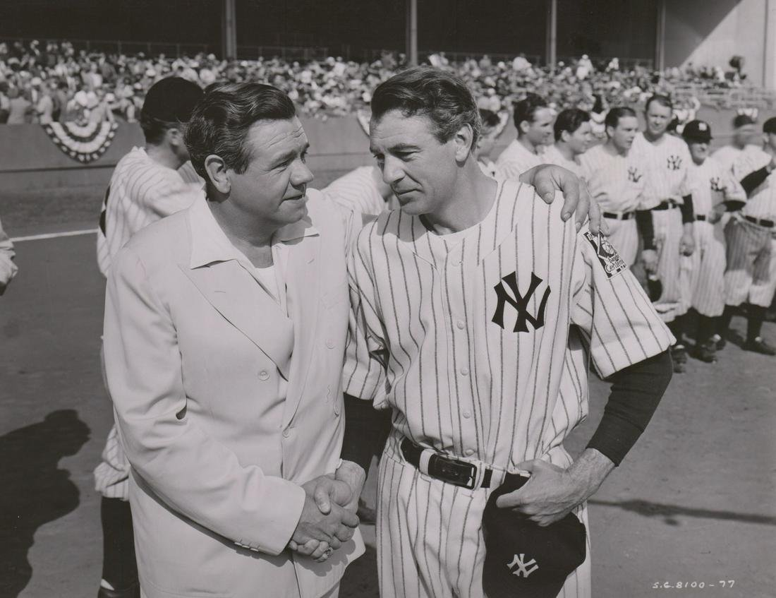 'The Pride of the Yankees' 11in. x 14in. Photo