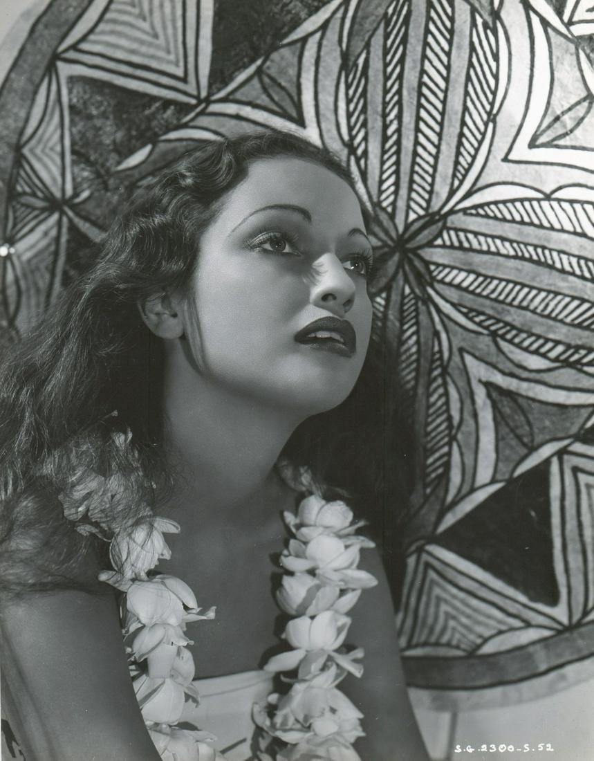 Dorothy Lamour in 'The Hurricane' (United, 1937)