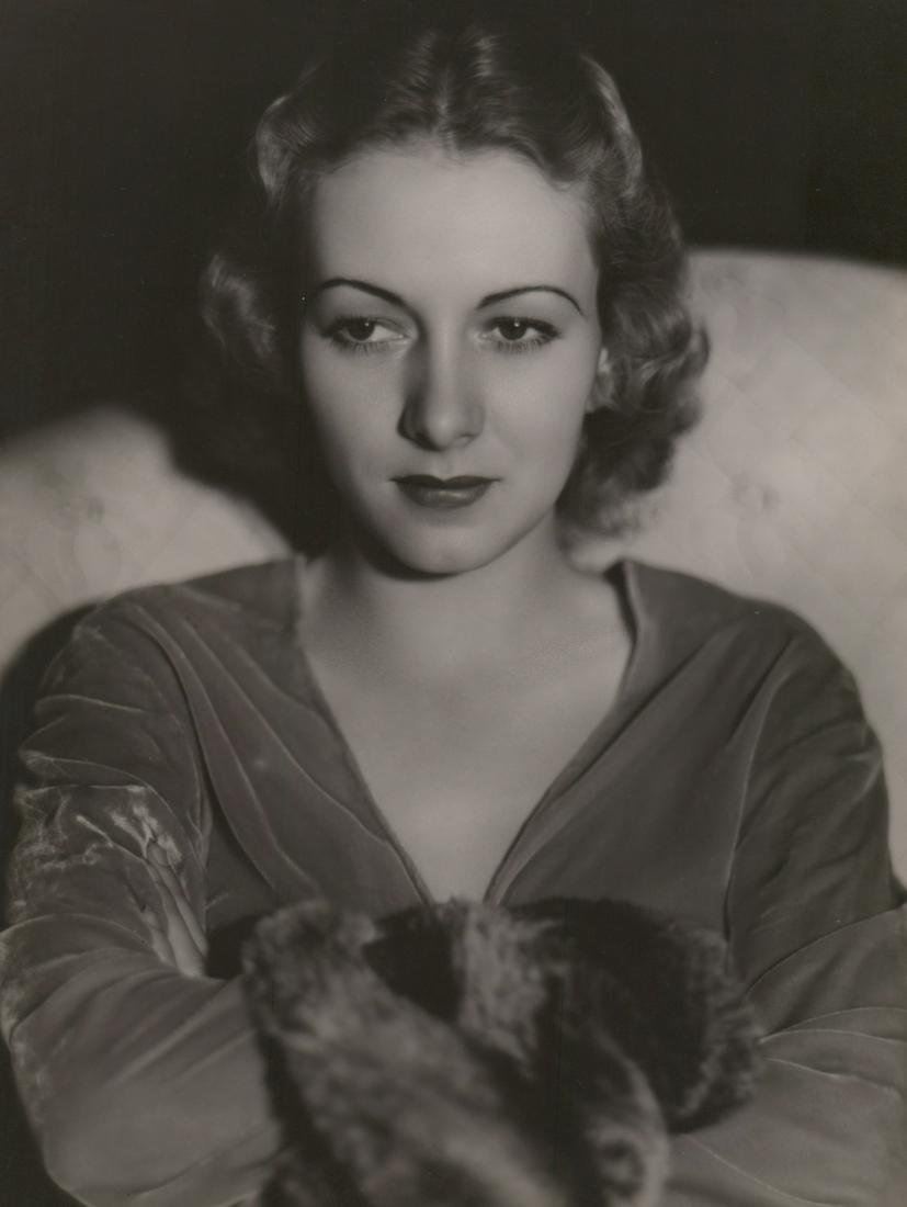Karen Morley Photographed by George Hurrell