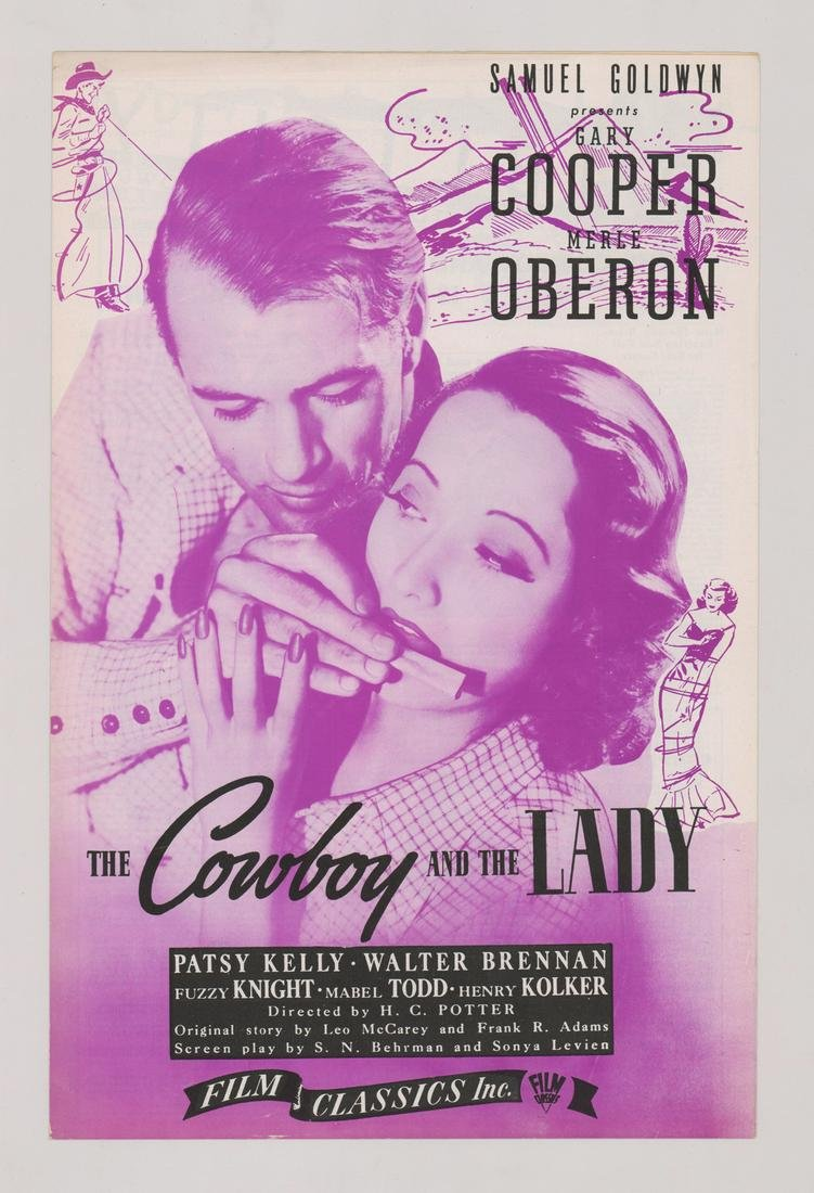 The Cowboy And The Lady Publicity Promotion
