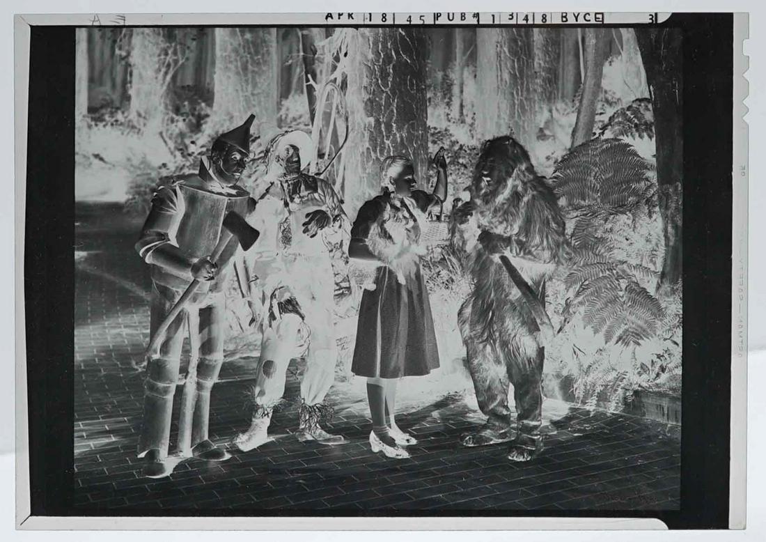 Wizard of Oz Cast Negative April 18, 1945
