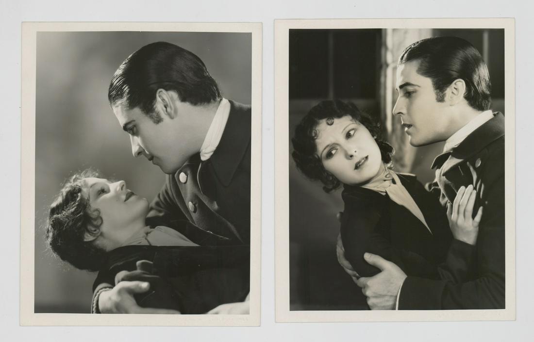 Ramon Novarro and Dorothy Jordan by C.S. Bull