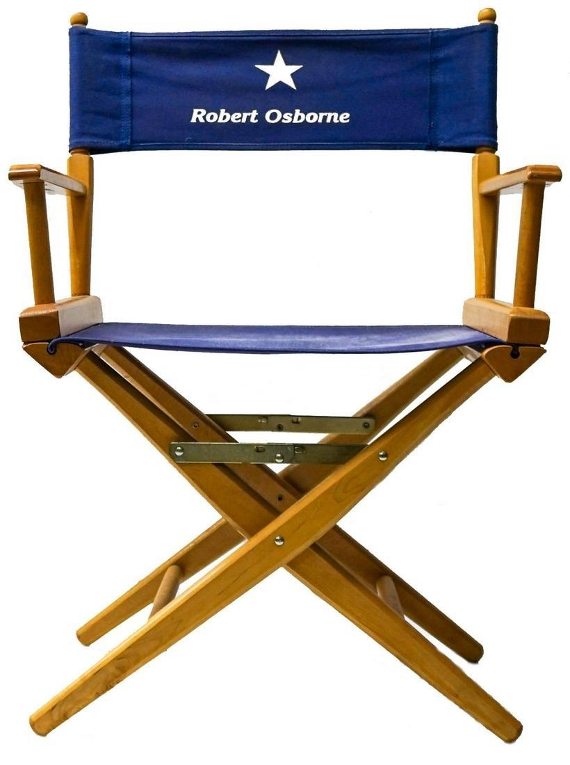 A Robert Osborne Director's Chair
