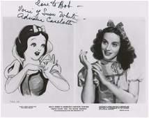 Adriana Caselotti Signed Photograph