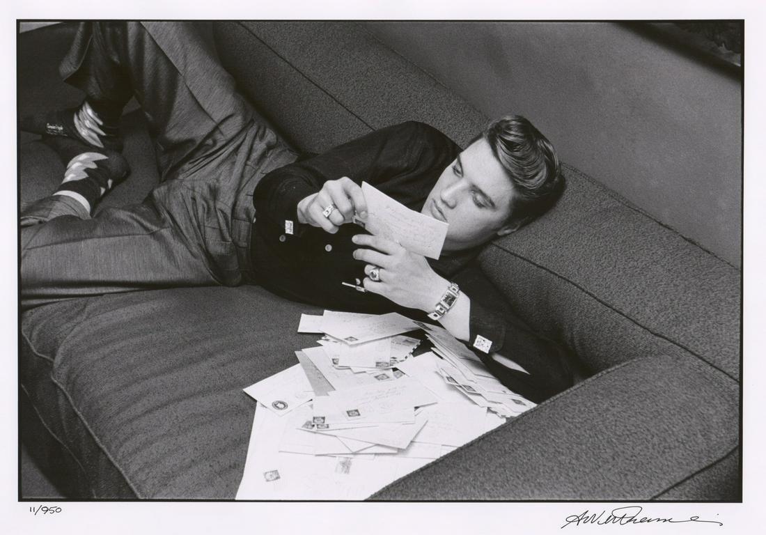 Alfred Wertheimer Elvis Presley No.11/950, 1987
