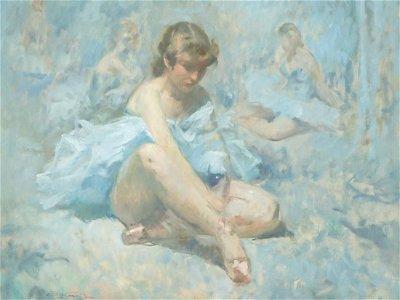 Emil Kosa Jr Large Signed Oil Painting