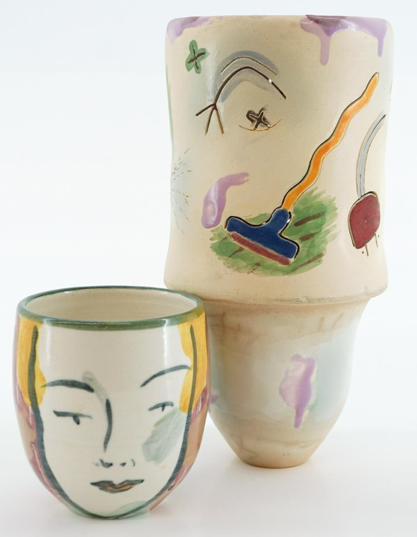 Beth Lo Vase and Cup