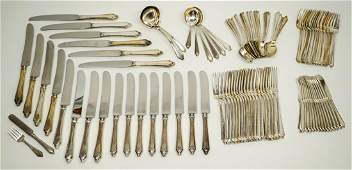 Towle Sterling Virginia Carvel Pattern 100 pcs