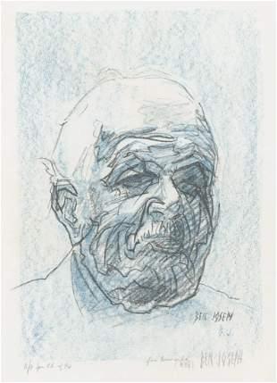Ben Joseph Lithograph Portrait