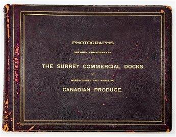 Surrey Commercial Docks Outstanding Photo Album