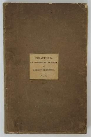 Strafford by Robert Browning 1837