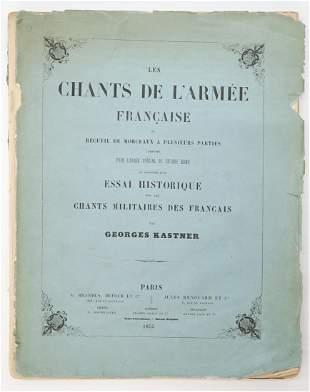George Kastner French Army Songs 1855