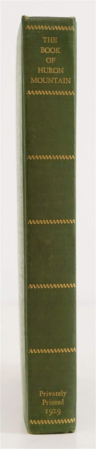 The Book of Huron Mountain 1929