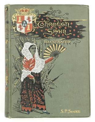Through Spain by Scott 1886