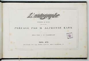Alphonse Karr LAutographe 1872