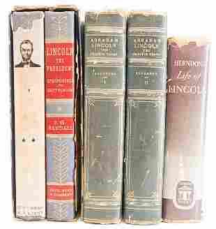 Abraham Lincoln 5 Books